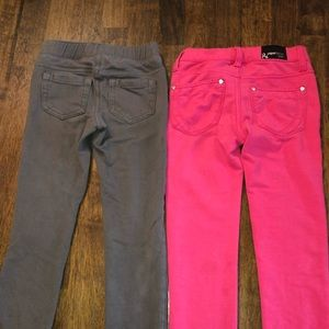 2 pairs of girls pants